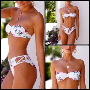 MINKPINK 🌺 Pretty Petals Bikini NWT